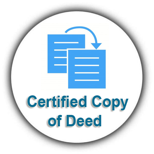 Certified copy of Deed